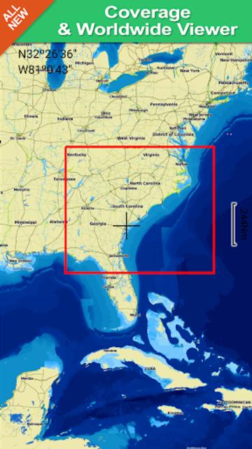 Georgia South to North Carolina GPS Map Navigator screenshot 8