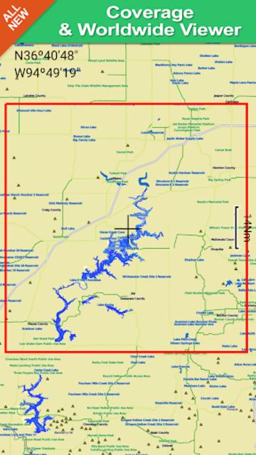 Grand Lake o the Cherokees GPS Map Navigator screenshot 8
