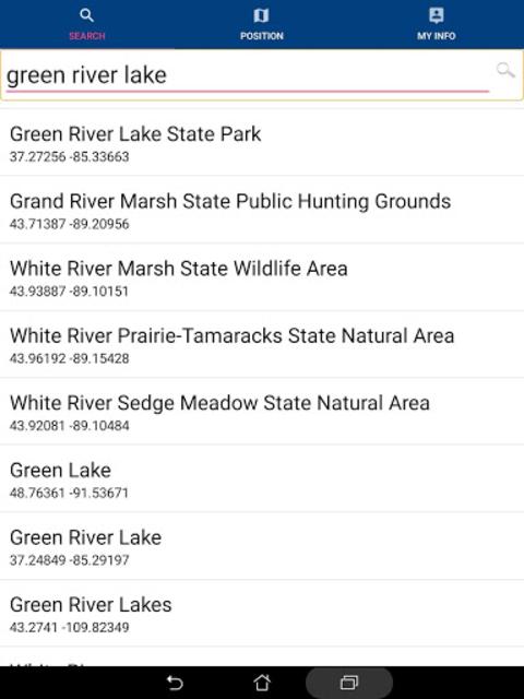 Green River Lake GPS Fishing Chart screenshot 15