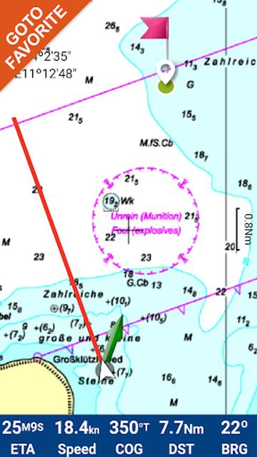 Hamburg - West Germany GPS Map screenshot 2