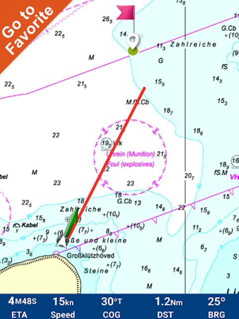 Hamburg - West Germany GPS Map screenshot 10