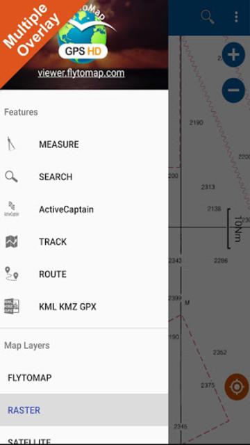 Huron Erie Ontario Lakes GPS Map Navigator screenshot 7