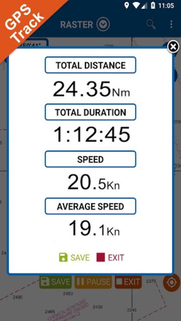 IOWA Lakes GPS Nautical Charts screenshot 4