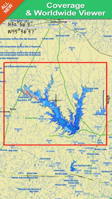Lake Fork Texas GPS Fish Chart screenshot 8