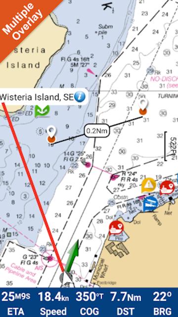 Lillinonah lake GPS Charts screenshot 1