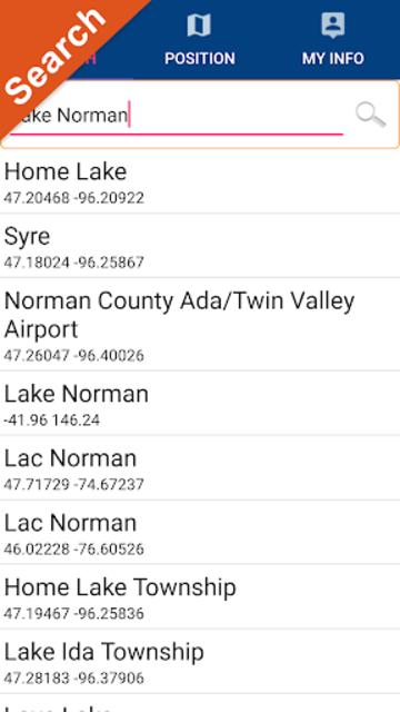 Lake Norman GPS Offline Fishing Charts Navigator screenshot 3