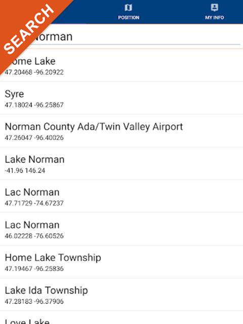 Lake Norman GPS Offline Fishing Charts Navigator screenshot 11