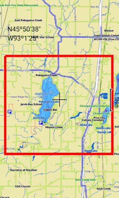 Pokegama Lake - MN GPS Map screenshot 7