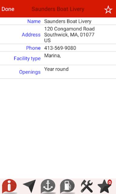 Congamond Lakes - Massachusetts GPS Map Navigator screenshot 6