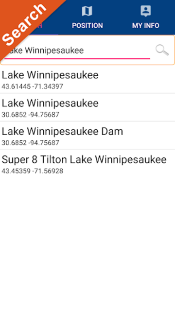 Lake Winnipesaukee New Hampshire Offline GPS Chart screenshot 2