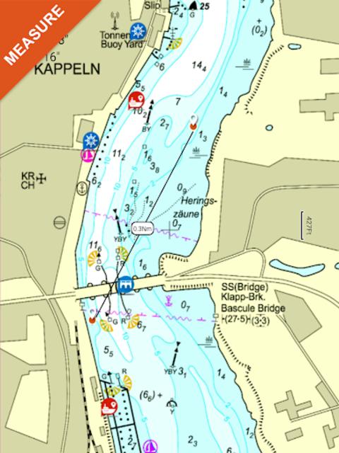 Lake Wylie GPS Offline Fishing Chart screenshot 14
