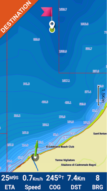 Martinique GPS Map Navigator screenshot 4