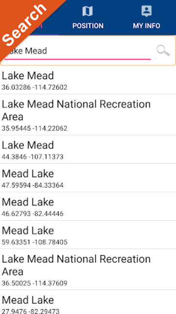 Lake Mead Map GPS Offline Fishing Charts Navigator screenshot 2