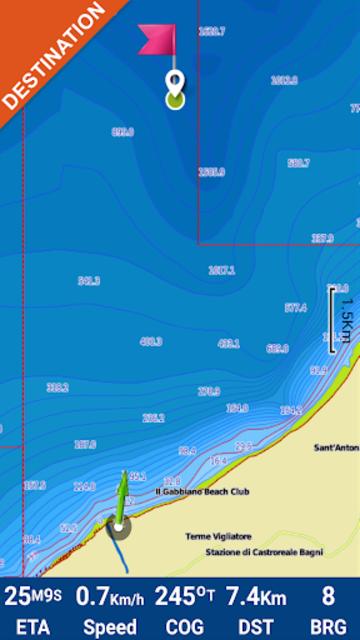 Oslo Fjord GPS Map Navigator screenshot 4
