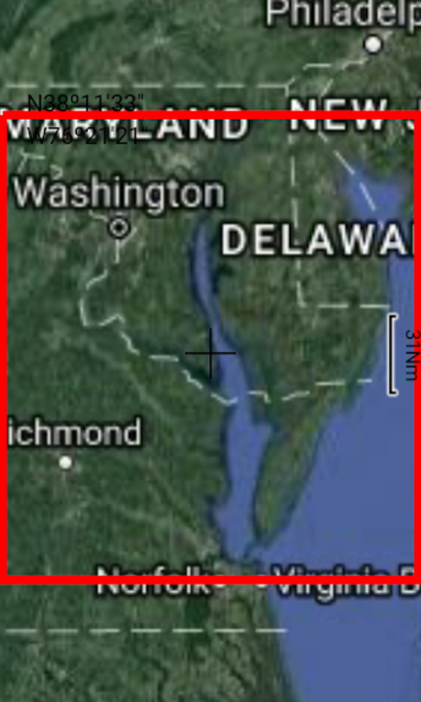 Potomac River - Washington GPS Map Navigator screenshot 8
