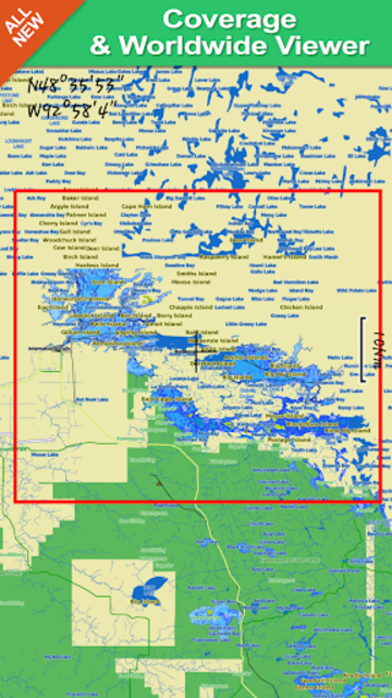 Rainy Lake GPS Map Navigator screenshot 7