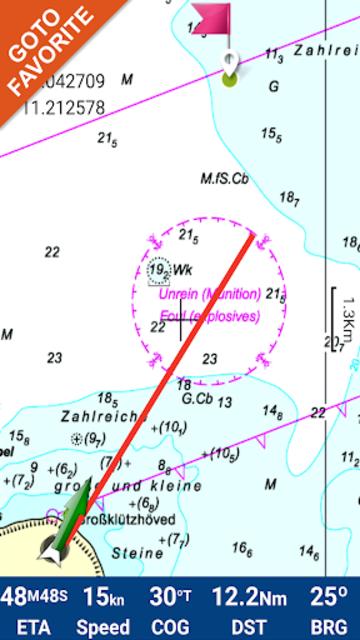 Saint Vincent GPS Nautical and Fishing Charts screenshot 3