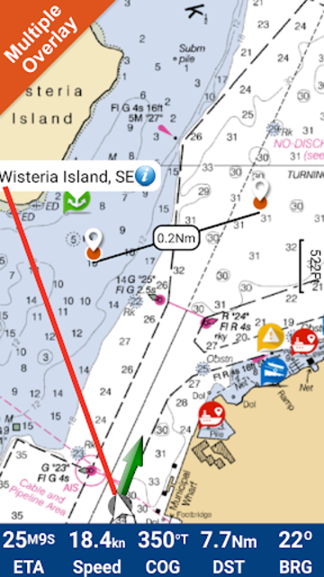 Sam Rayburn Gps Fishing Chart screenshot 1
