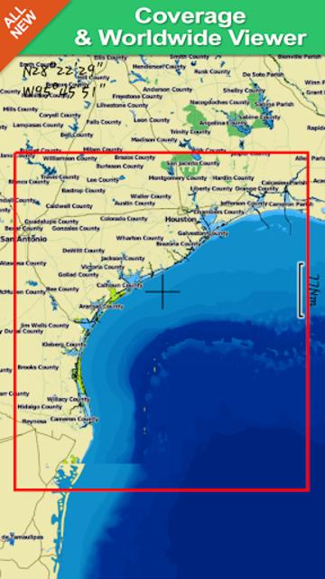 Texas GPS Nautical Charts screenshot 8