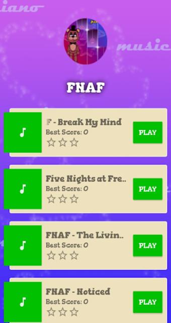 Piano Tiles : FNAF screenshot 4