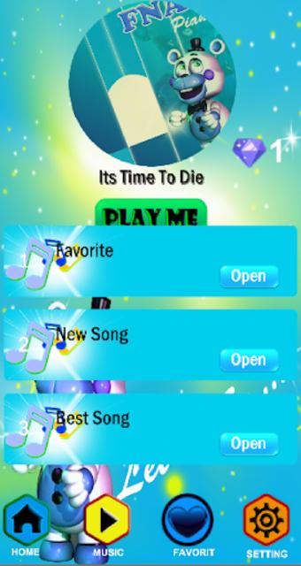 Fnaf - Piano Tiles screenshot 5