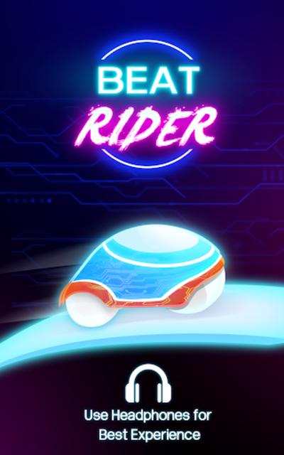 Beat Rider - Neon Rider Game screenshot 1