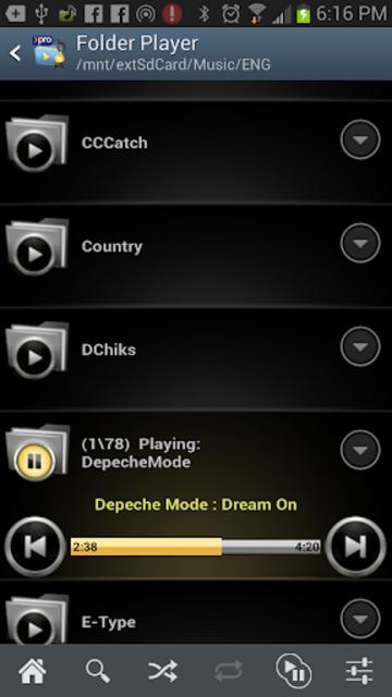 Folder Player Pro screenshot 1