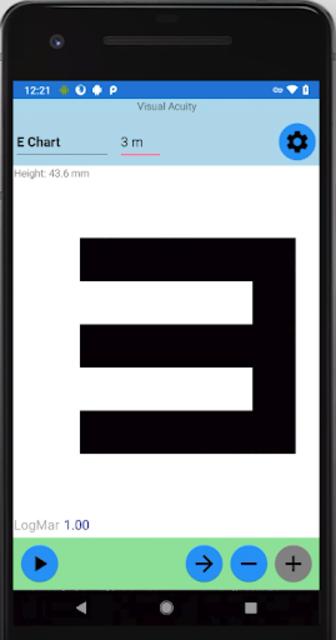 Visual Acuity Charts - Detect Myopia screenshot 4