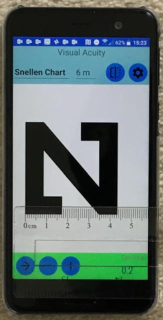 Visual Acuity Charts - Detect Myopia screenshot 1