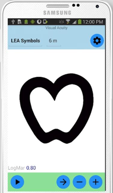 Visual Acuity Charts - Detect Myopia screenshot 6