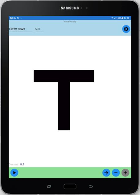 Visual Acuity Charts - Detect Myopia screenshot 9