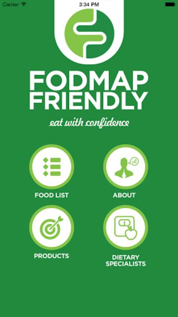 FODMAP Friendly screenshot 1