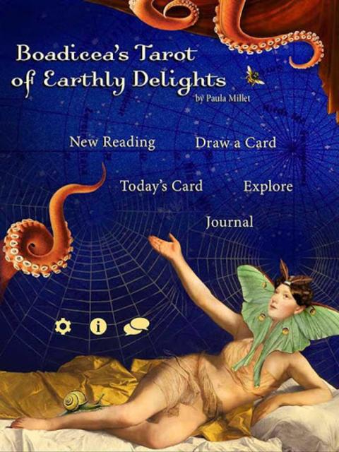 Boadicea's Tarot of Earthly Delights screenshot 4