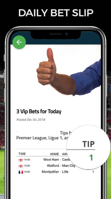 Football AI: Bet Picks & Soccer Predictions screenshot 1
