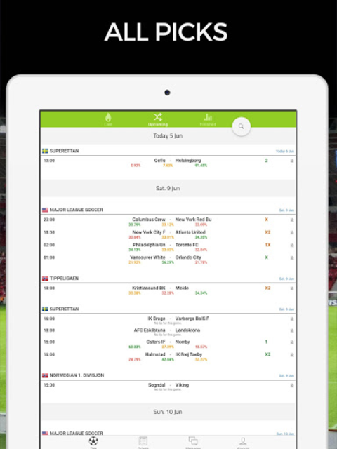 Football AI: Bet Picks & Soccer Predictions screenshot 9