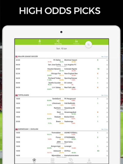Football AI: Bet Picks & Soccer Predictions screenshot 24