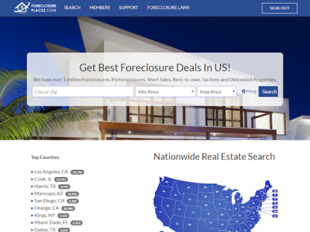 Foreclosure Places screenshot 7