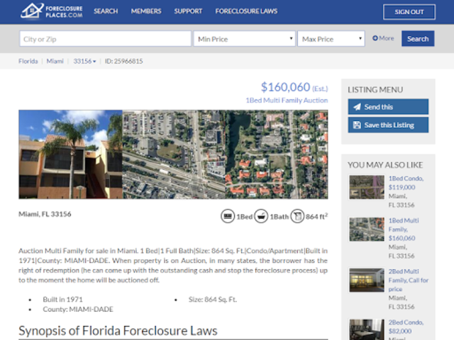 Foreclosure Places screenshot 11