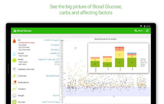 Diabetes & Diet Tracker screenshot 10
