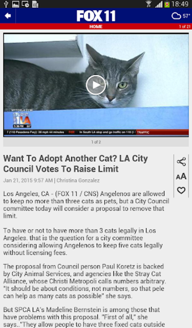 FOX 11: Los Angeles News screenshot 13