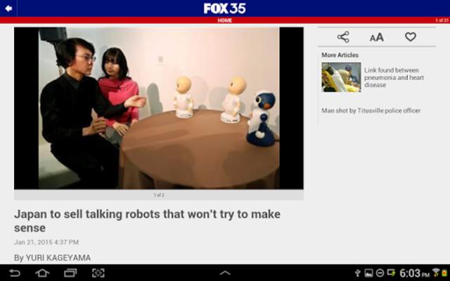 FOX 35 Orlando screenshot 7