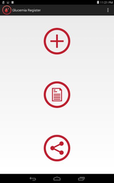Glucemia Register screenshot 6