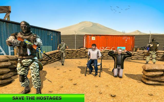 Real Terrorist Shooting Games: Gun Shoot War screenshot 1