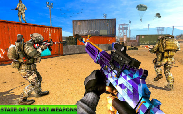 Real Terrorist Shooting Games: Gun Shoot War screenshot 2