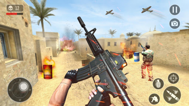FPS Anti Terrorist Shooter Mission: Shooting Games screenshot 1