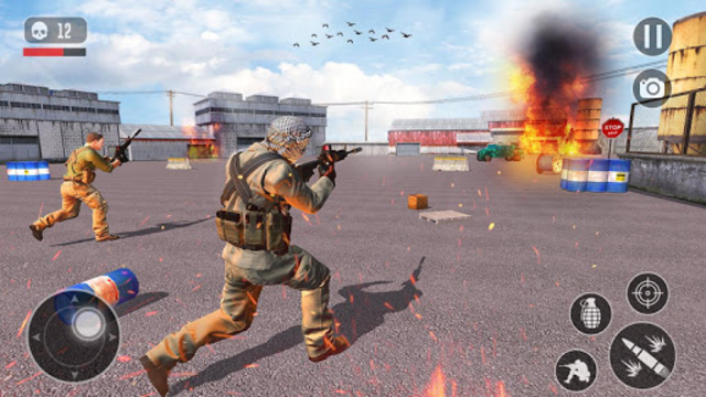 FPS Anti Terrorist Shooter Mission: Shooting Games screenshot 8