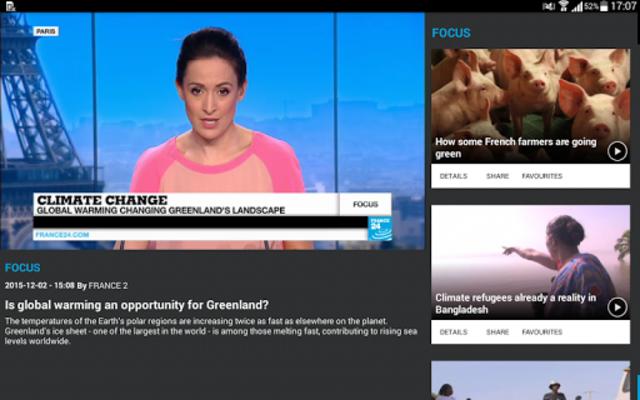 FRANCE 24 - Live international news 24/7 screenshot 11