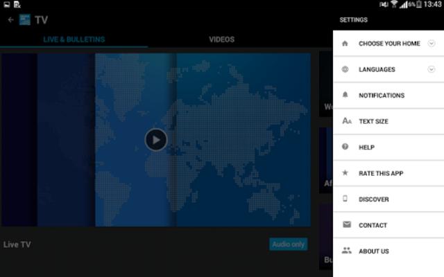 FRANCE 24 - Live international news 24/7 screenshot 14