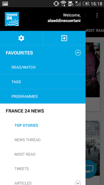 FRANCE 24 - Live international news 24/7 screenshot 19