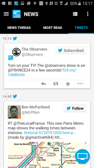 FRANCE 24 - Live international news 24/7 screenshot 24